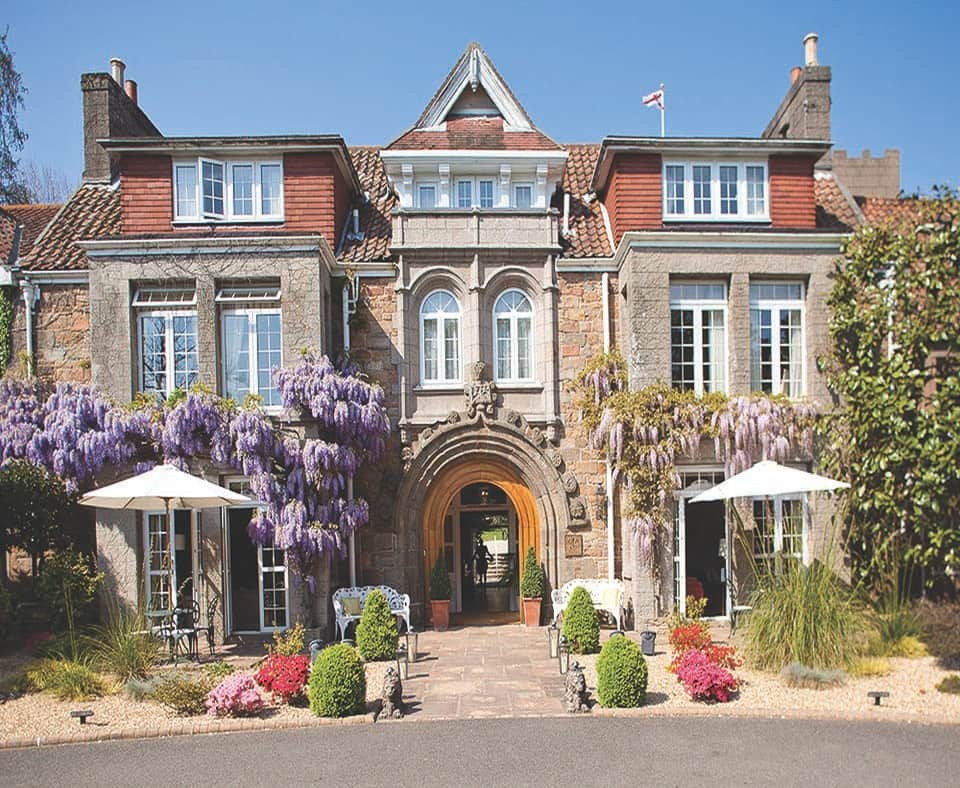 Longueville manor house jersey