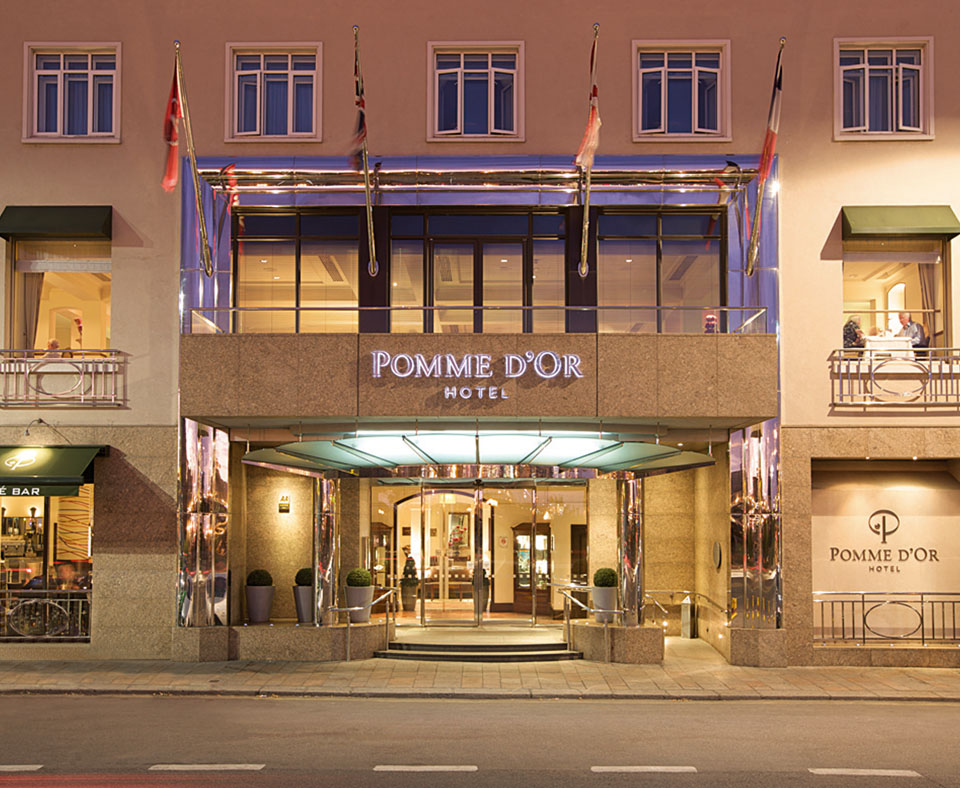 Pomme D'Or Hotel Jersey