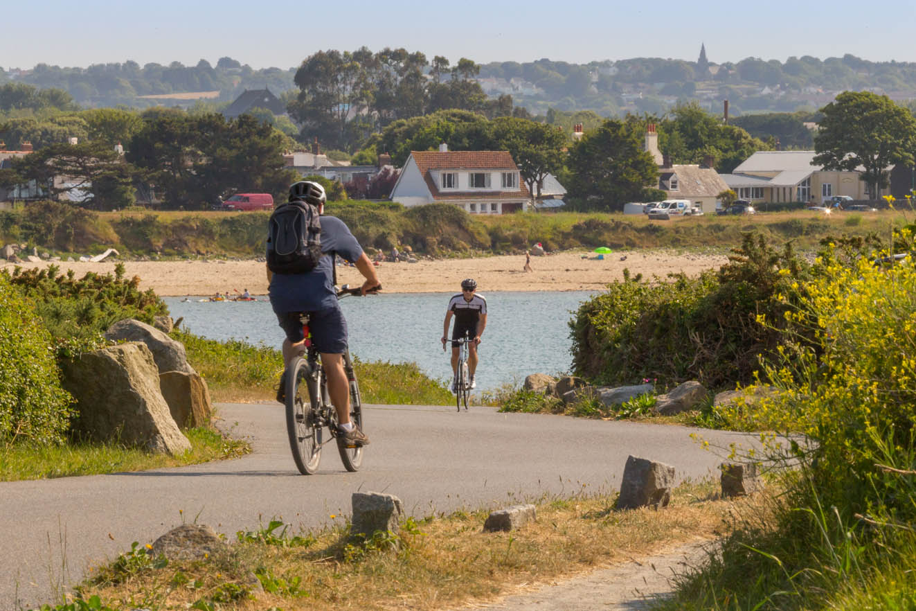 Walking and Cycling in the Channel Islands