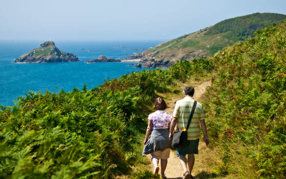 Walking in herm